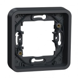 Rámček IP55 pre zapustenú montáž 1 násobný, antracit