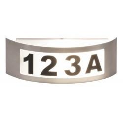 Rabalux 8749 - Innsbruck osvetlenie čísla domu E27 1x MAX 14W kovové/ umelá hmota nehrdzavejúca ocel